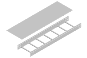 Ladder Corrugated Cable Tray