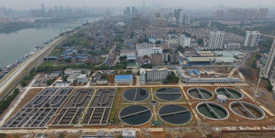 Angola water purification plant project