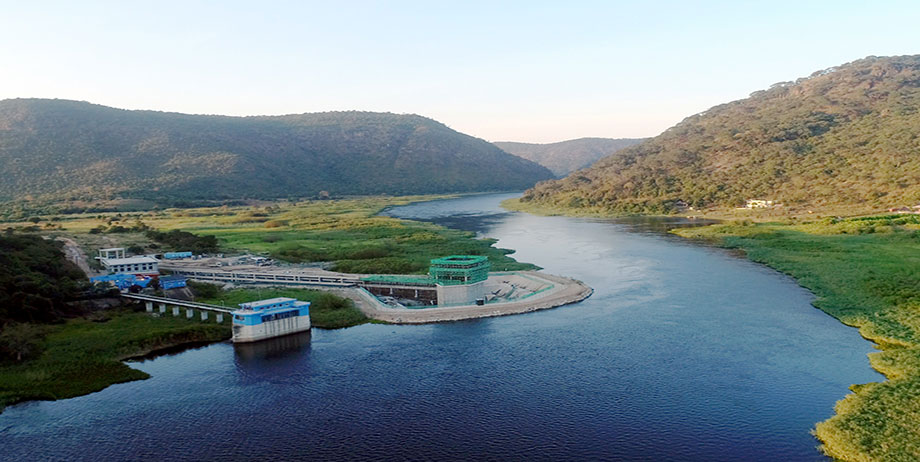Kraft River Water Supply Project in Zambia