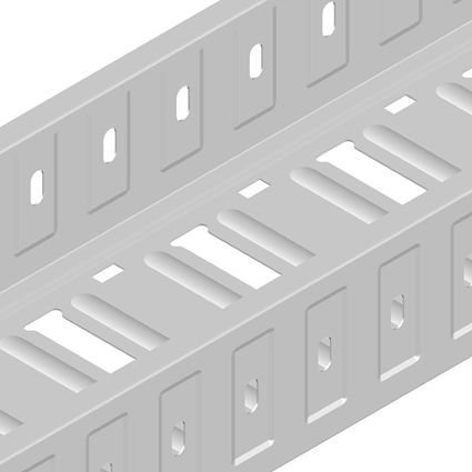 Perforated Corrugated Cable Tray (Small Size)