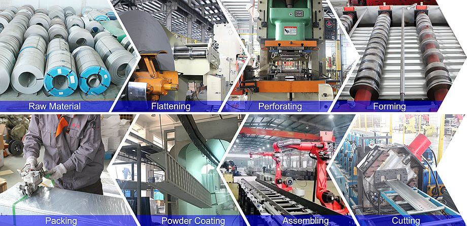Production Process for Cable Tray