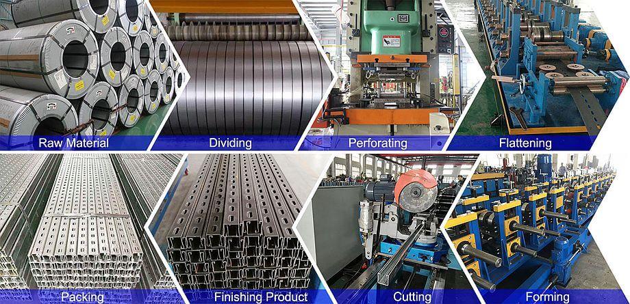 Production Process for Strut Channel
